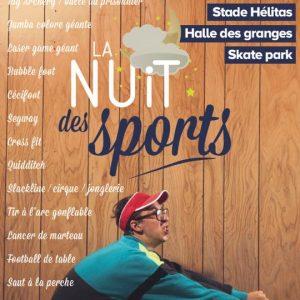 La Nuit des Sports – jeudi 27 avril