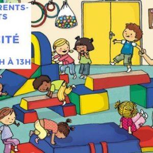 Atelier Parents-Enfants – Motricité – 04/04/20