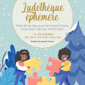 Ludothèque éphémère – Chemin Vert – 19/12/2020