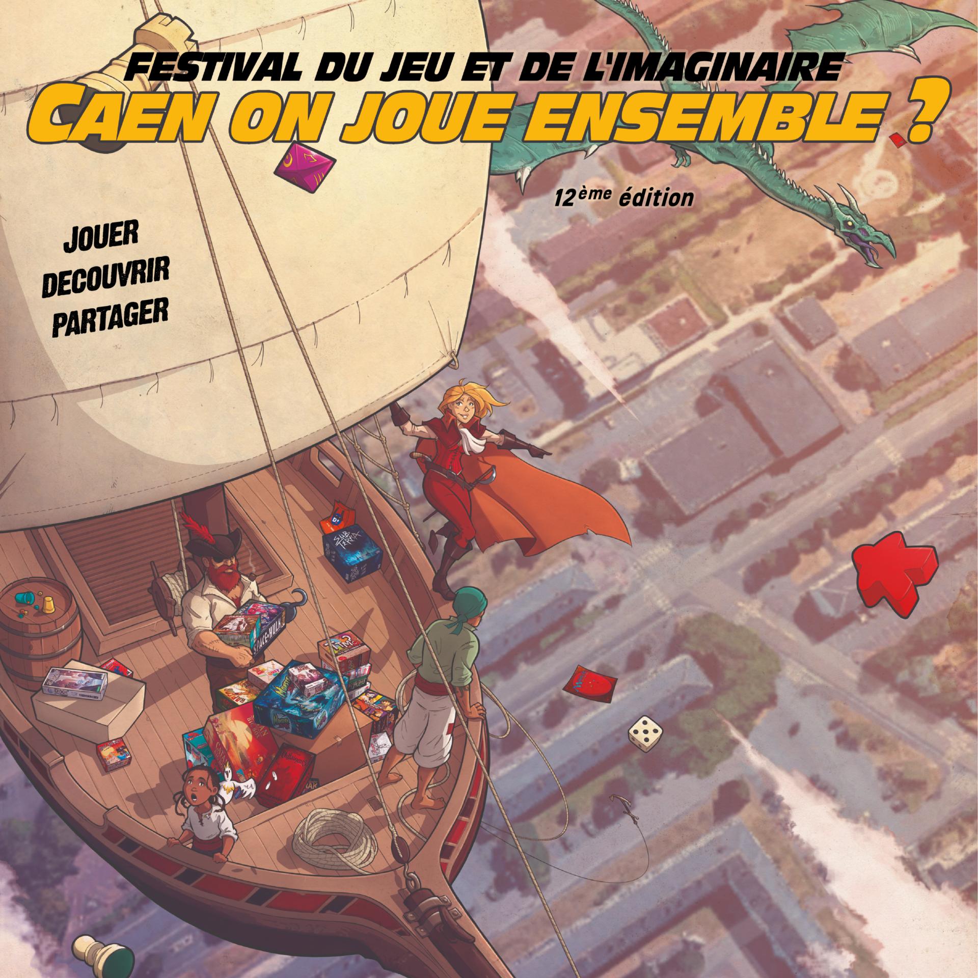 festival du jeu et de l'imaginaire 12